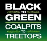 Black to Green logo, crop